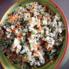 蔬菜炒米饭
