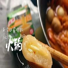 芝士年糕泡菜火锅(简易版)