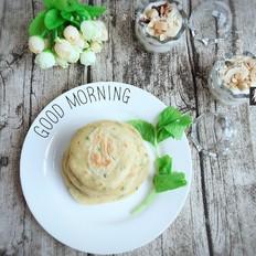快手早餐之黑胡椒芹菜鸡蛋饼