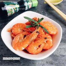 迷迭香柠檬烤虾
