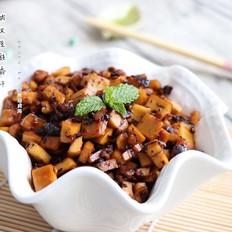 肉末豆豉香干
