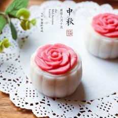 蔓越莓冰皮月饼