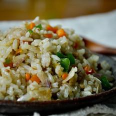 虾皮三蔬姜酒炒饭