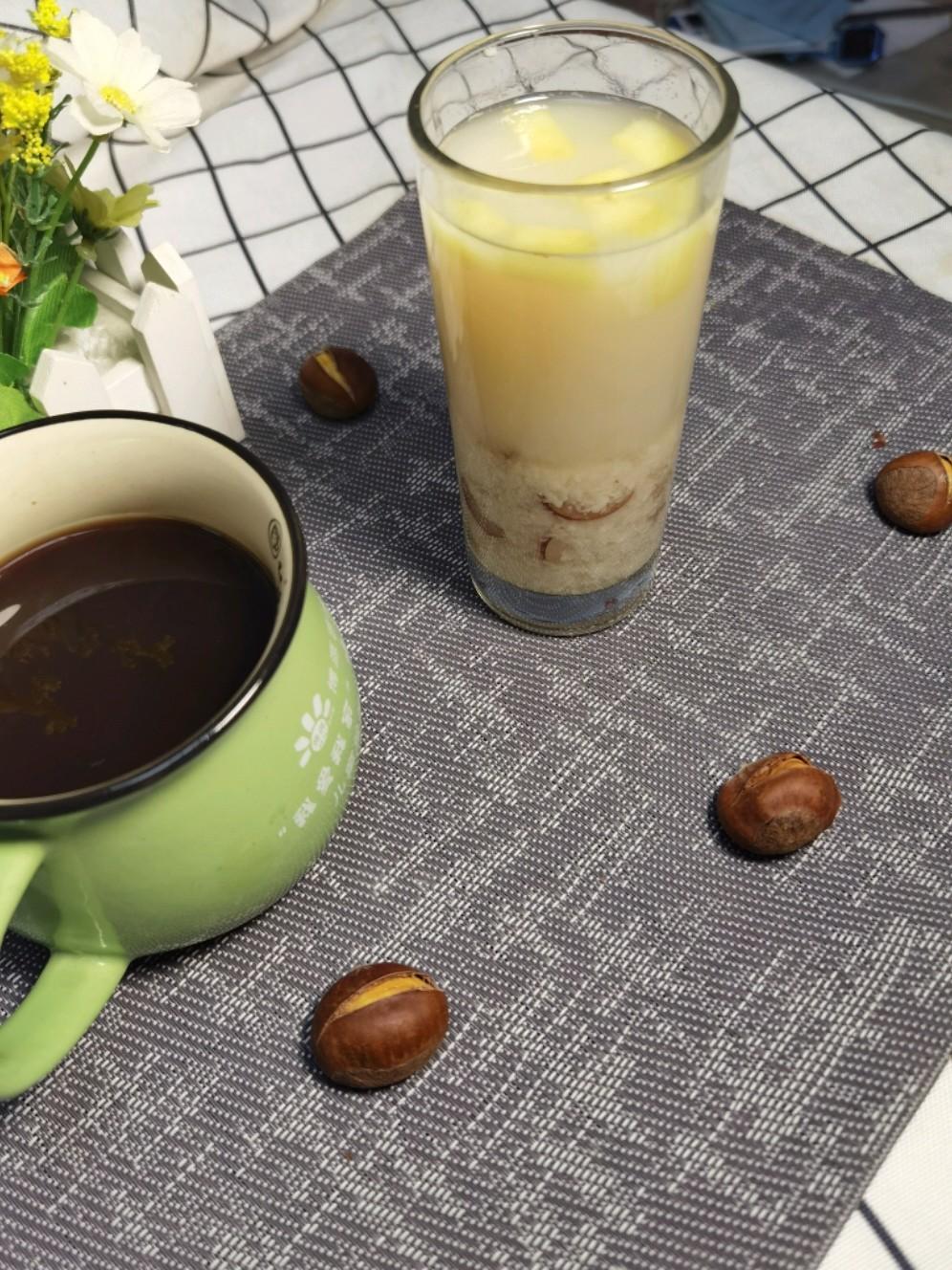 酒酿水果茶