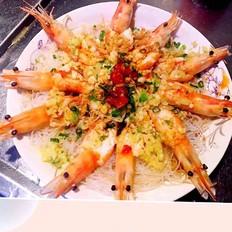 ❤蒜蓉粉丝虾❤