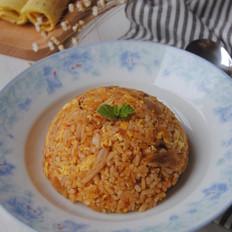 韩式辣白菜蛋炒饭