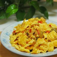 海鸭蛋炒榨菜
