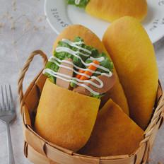 胡萝卜口袋面包