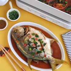 香焖金鲳鱼