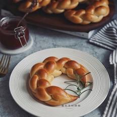 大米四股辫面包