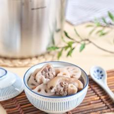莲藕猪蹄汤的做法