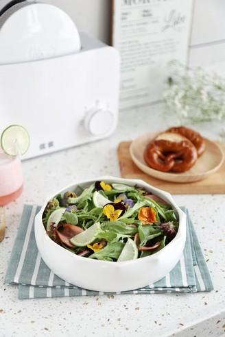 低脂火腿沙拉的做法