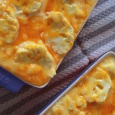奶酪烤菜花