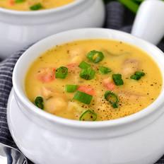 奶酪土豆浓汤