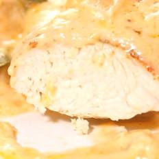 芝士焗鸡胸肉