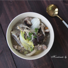 菌菇骨头汤