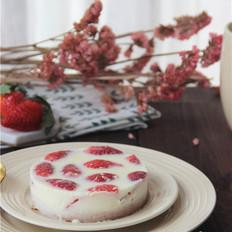 草莓白巧克力奶冻(4寸)