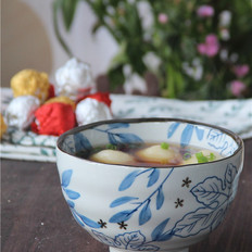 萝卜丝豆腐咸汤圆