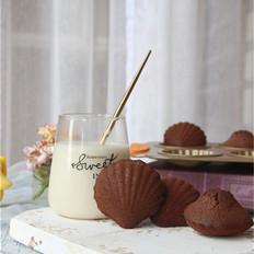 超级浓郁的巧克力玛德琳蛋糕