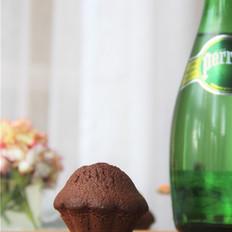 巧克力小花蛋糕
