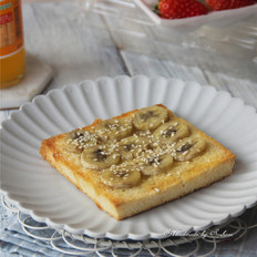 枫糖香蕉吐司片