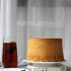 牛奶戚风蛋糕(17CM加高中空)