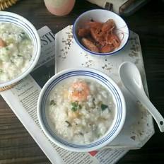 干贝鲜虾粥