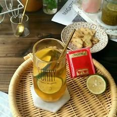 青柠冷泡红茶