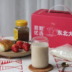 红枣核桃米浆