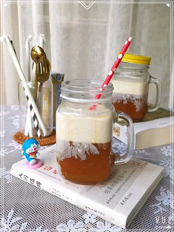 柠檬红茶冻撞奶