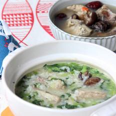 排骨青菜粥