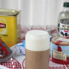 海盐芝士奶盖奶茶