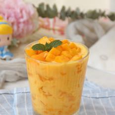 芒果酸奶果冻爽的做法