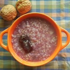 宝宝餐--紫薯双米粥