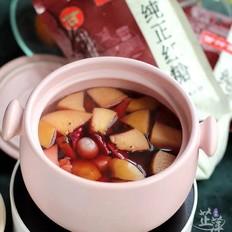 红糖水果茶