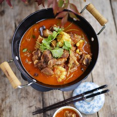 番茄牛腩锅