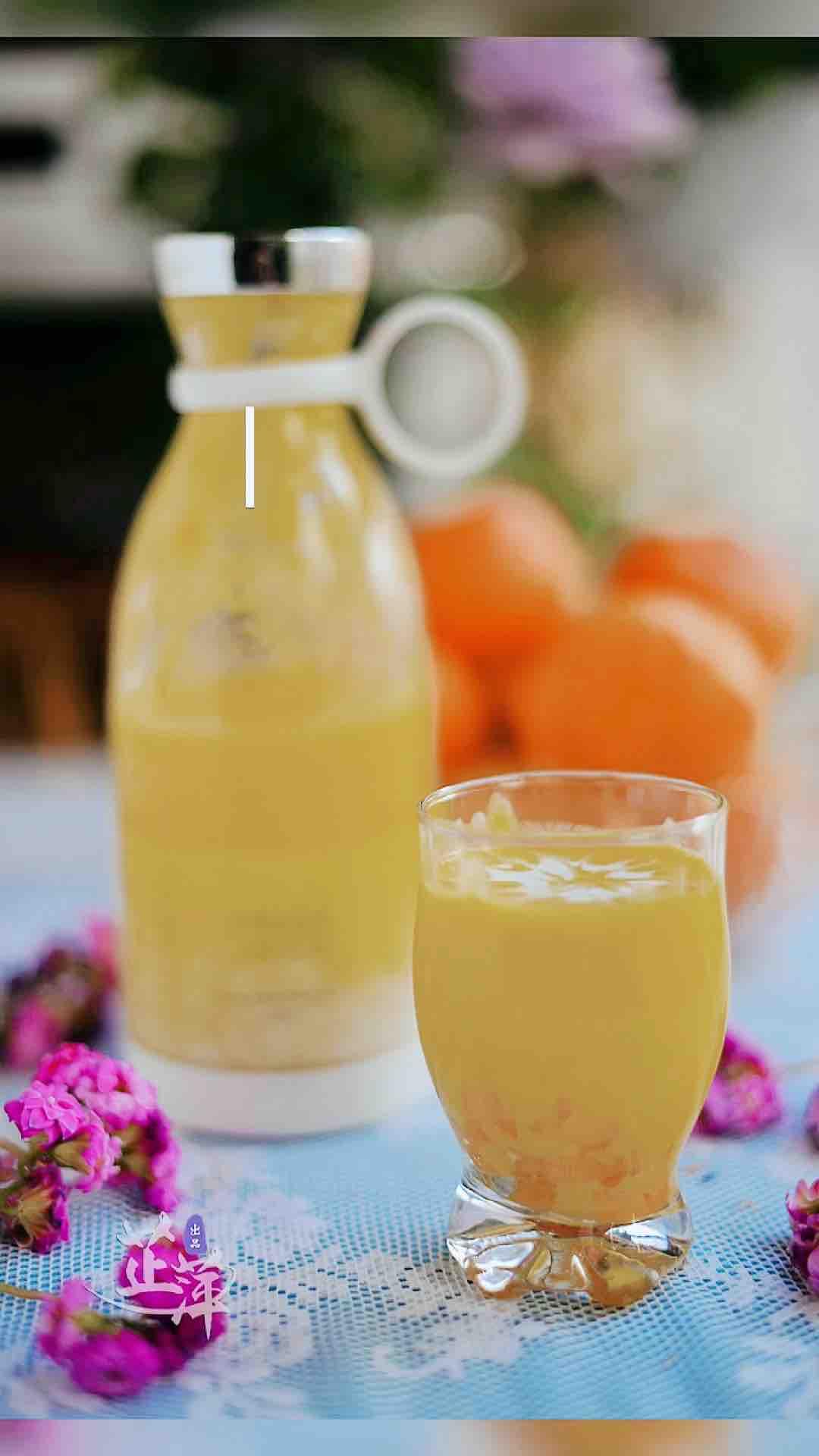椰浆芒果露的做法