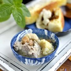 猪骨祛湿汤的做法