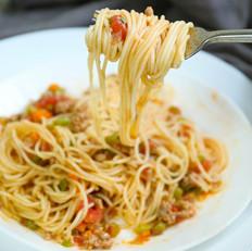 """意大利面 可以秒变主厨的""""意式肉酱面"""""""
