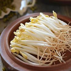 自发健康绿豆芽