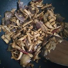 干竹笋炒腊肉