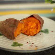 电烤箱烤红薯