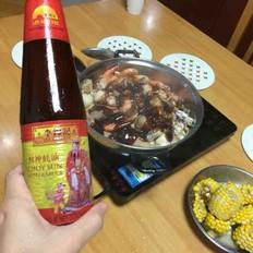 虾鱿鸡焖锅