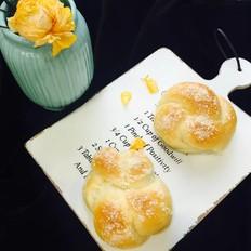 简单的花环面包