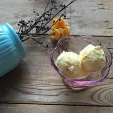 芒果奶味冰淇淋