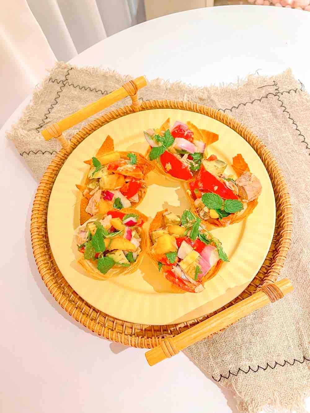 泰式吞拿鱼低卡沙拉杯