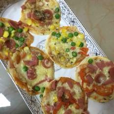 披萨-饺子皮迷你版