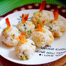 虾仁土豆焖饭