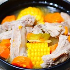 排骨玉米苦瓜汤