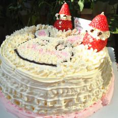 小白兔奶油蛋糕